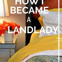 How I became a landlady