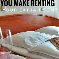 How much can you make renting your extra room?