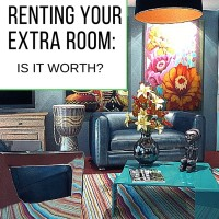 Renting your extra room: is it worth?