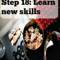 Step 18: Learn new skills