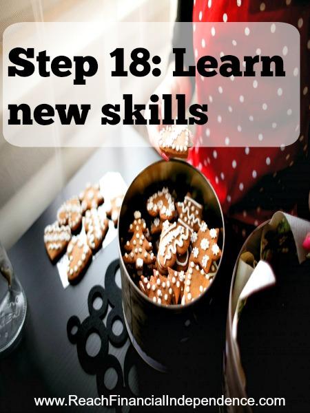 Step 18: Learn new skills