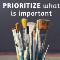 Step 11: Prioritize what is important