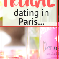 Frugal dating in Paris…
