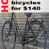 How I sold my old bicycles for $140