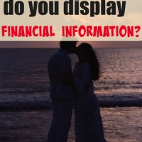 On which date do you display financial information?