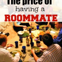 The price of having a roommate