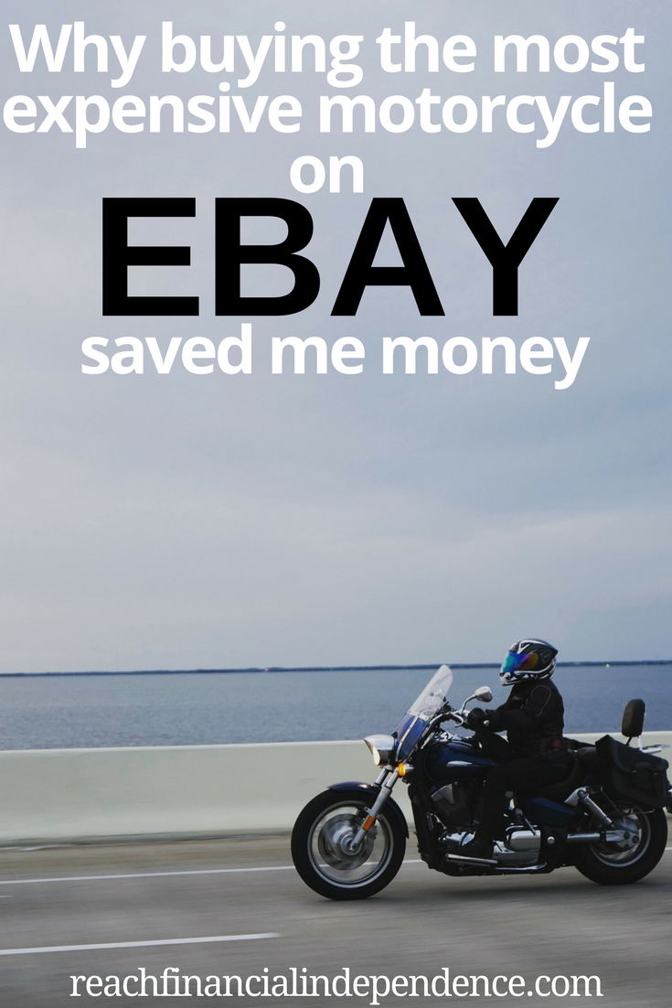WHY BUYING THE MOST EXPENSIVE MOTORCYCLE ON EBAY SAVED ME MONEY