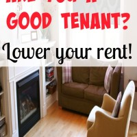 Are you a good tenant? Lower your rent!