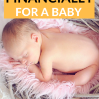 Preparing Financially for a Baby