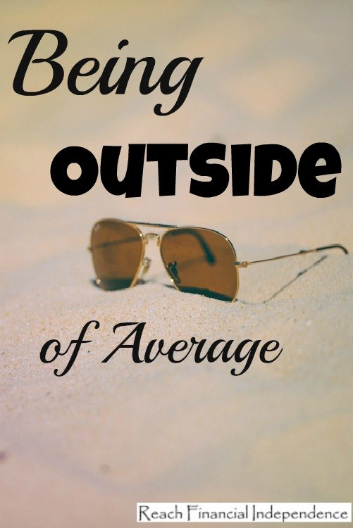 Being Outside of Average