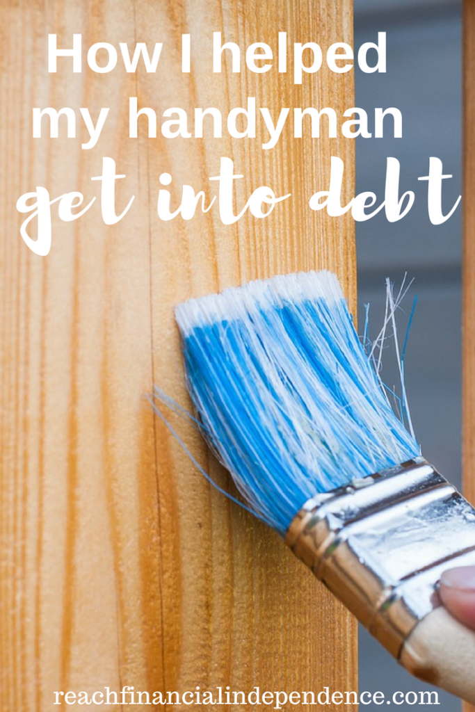 How I helped my handyman get into debt. I helped my handyman get in debt for a motorcycle that is worth 1 year of his salary. Was it wise?
