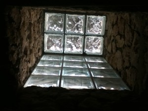 skylight in the bathroom