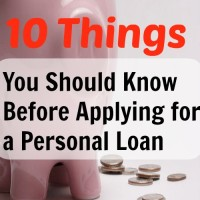 10 Things You Should Know Before Applying for a Personal Loan