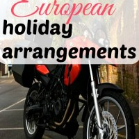 Complicated European holiday arrangements