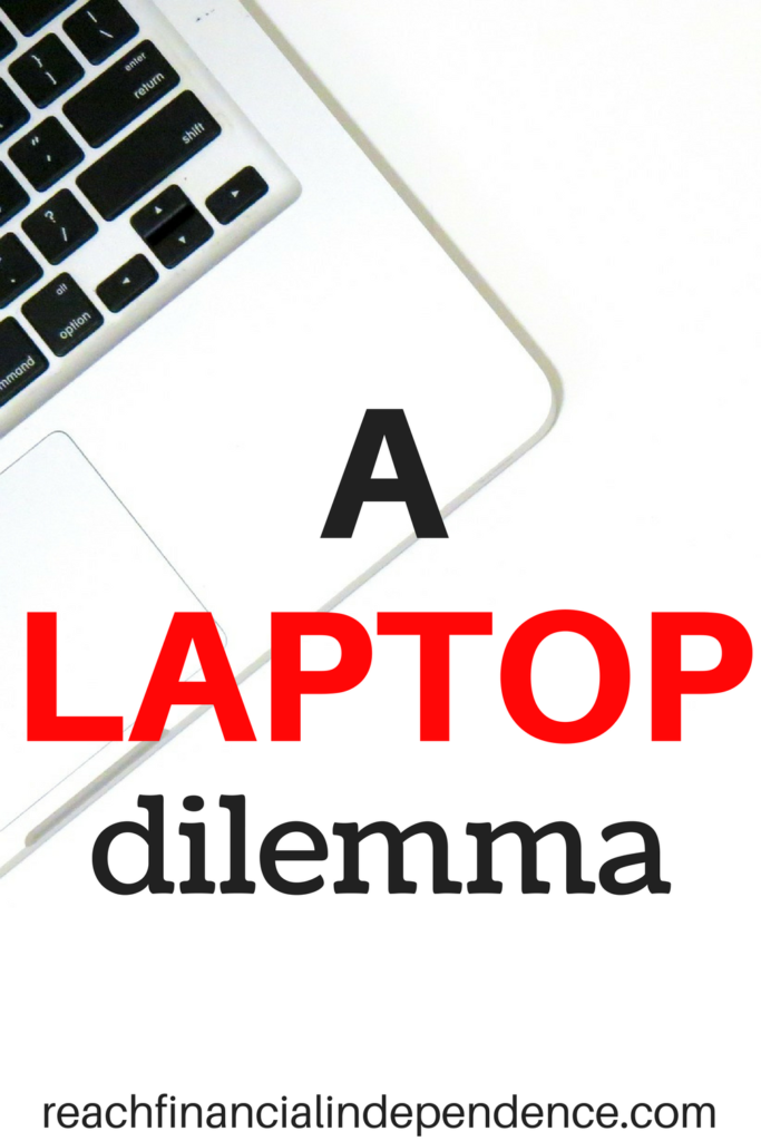 A laptop dilemma. I like them small, and strong. Laptops, that is.