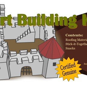 Anne's fort building kit
