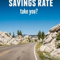 Where will your savings rate take you?