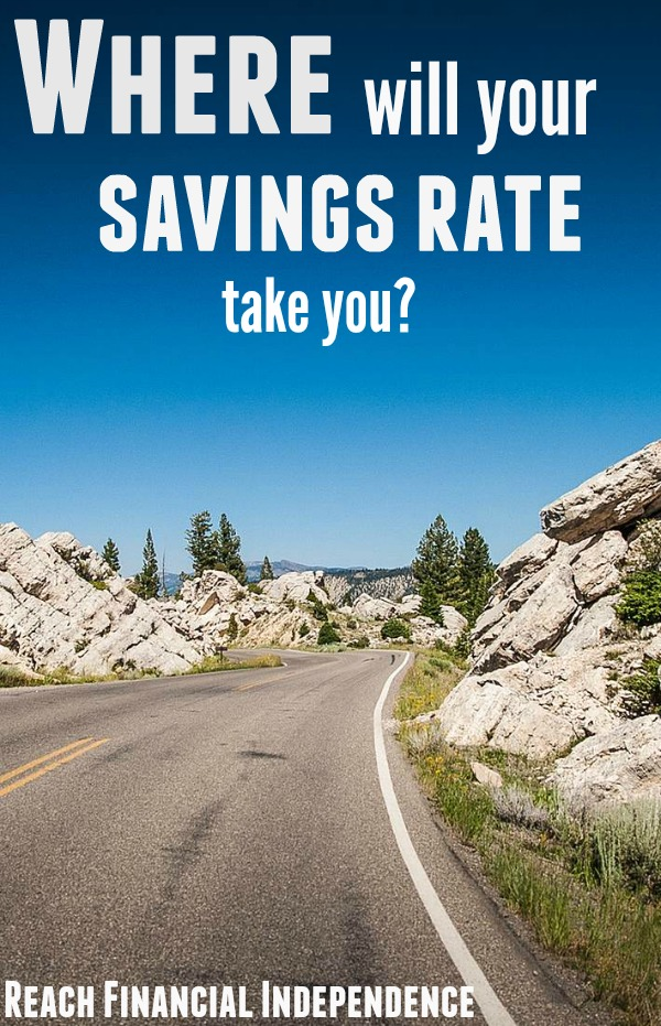 Where will your savings rate take you