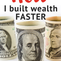 How I built wealth faster