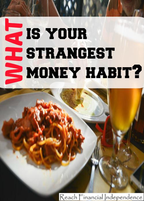 strangest money habit