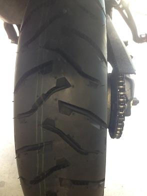 New tire!