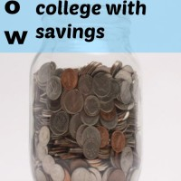 How I graduated college with savings