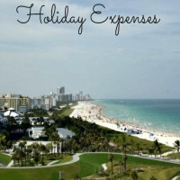 Miami holiday expenses