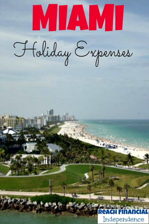 Miami holiday expenses