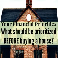 Your Financial Priorities: What should be prioritized before buying a house?