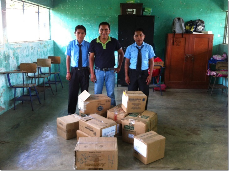 donate book guatemala