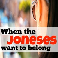 When the Joneses want to belong