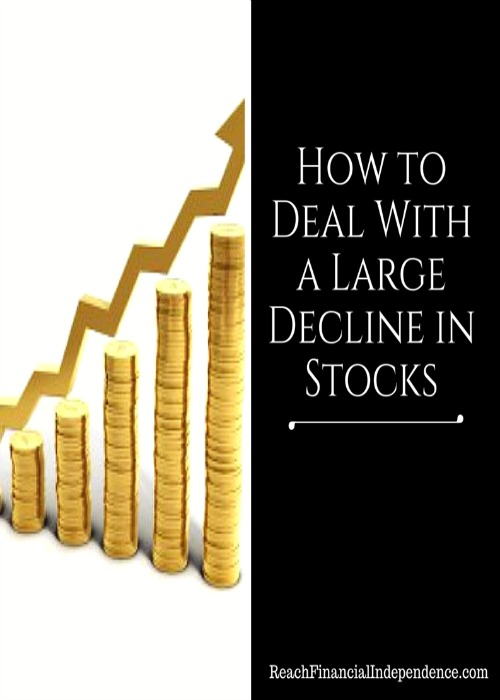 Large Decline in Stocks