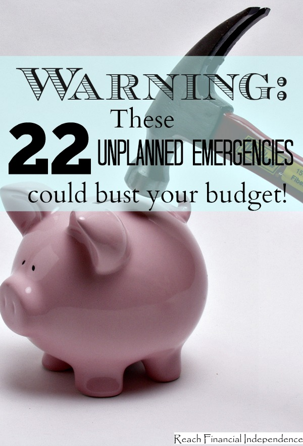 Warning: These 22 unplanned emergencies could bust your budget!
