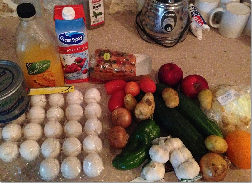 grocery challenge