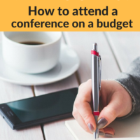 Going to #FinCon16! How to attend a conference on a budget