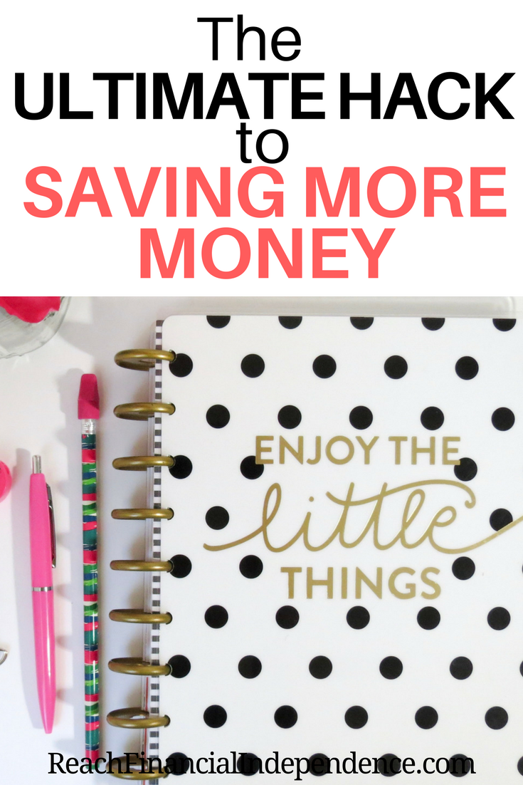 The Ultimate Hack to Saving More Money. This makes sense because saving money provides a sense of financial security, enabling you to live congruent with your values and beliefs. It's this control to live on your own terms that's a significant predictor of happiness.