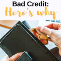 You Probably Can't Get Rich With Bad Credit: Here's Why