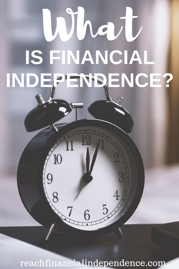 What is financial independence? Financial Independence can be very different for me, for you, for the CEO of a big company, or for someone deeply in debt. We all have different needs.