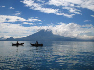 Lake Atitlán, one of the most beautiful lakes in the world!