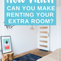 How much can you make renting your extra room? According to Airbnb.com, a website that allows you to rent your extra room to travelers, the AVERAGE earning of people renting through them in NYC is $21,000 a year. Wow. On average of about 10,000 people. What would you do with an extra $21,000 every year, just like that? Check out my article about Airbnb hosting tips if you decide to put your room on the market! #rentingahouse #rentingapartment #makemoneyfromhome #realestate #investing #passiveincome