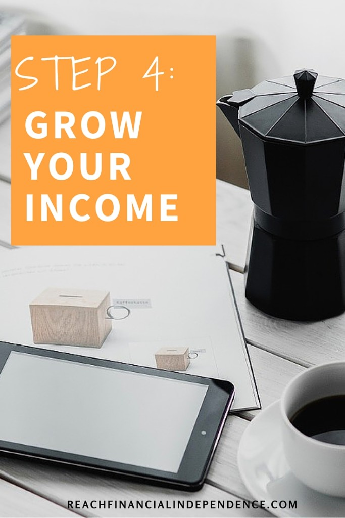 STEP 4 GROW YOUR INCOME