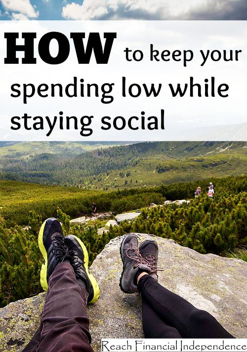 How to keep your spending low while staying social