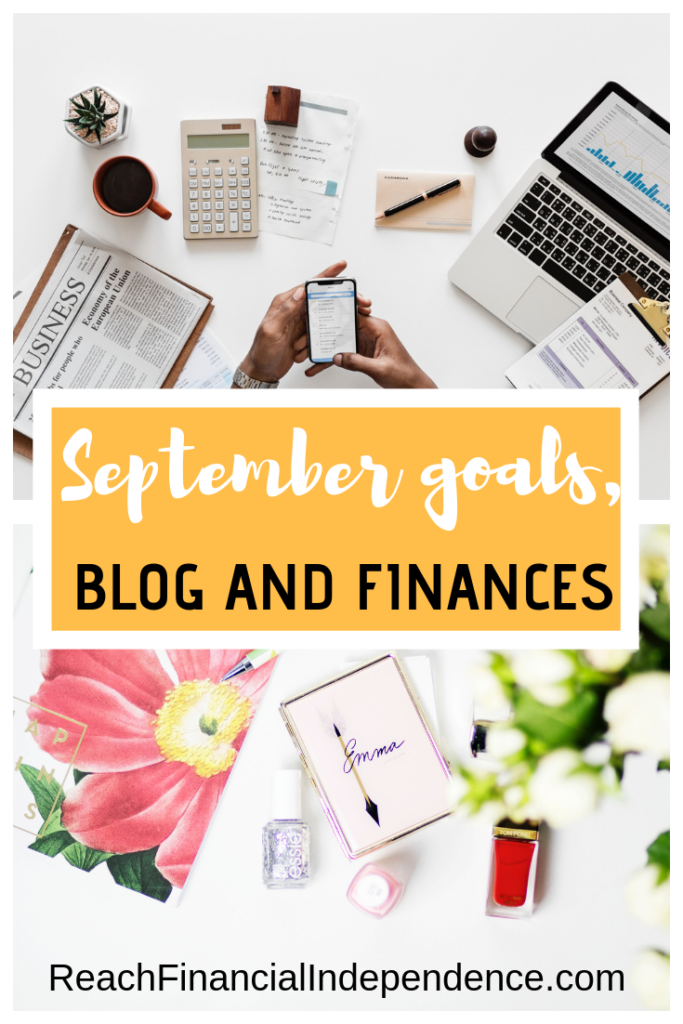 September goals, blog and finances. Here's my recap for my blogging and financial goals for September 2012. #blog #Blogging #blogtips