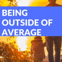 But what happens when you're not average? Suddenly you're outside of that bell shaped curve and to many people, that means one of two things - you're mediocre... or you're extraordinary.