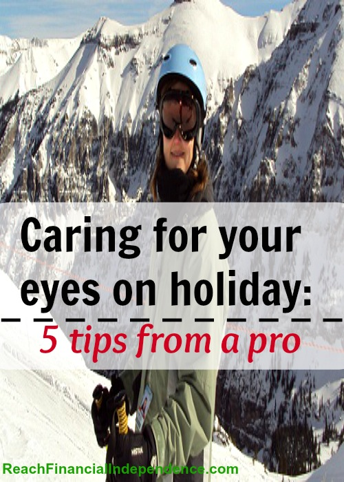 Caring for your eyes on holiday