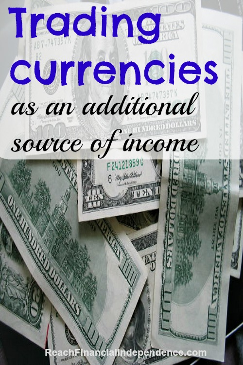 Trading currencies as an additional source of income