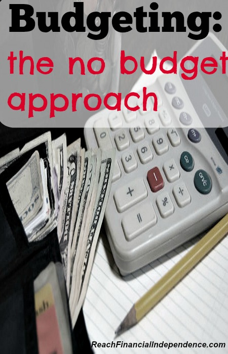 Budgeting: the no budget approach