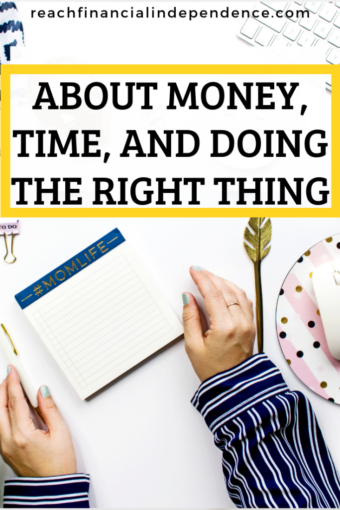 About money, time, and doing the right thing. I love saving money. And I have the luxury of having time in my life since I don't work anymore, so I have been known to go into great length to save money. #savingmoney #money