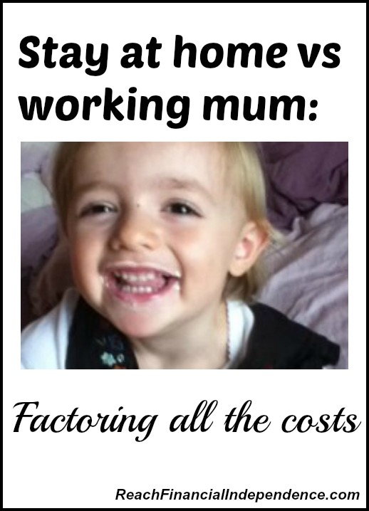 Stay at home vs working mum