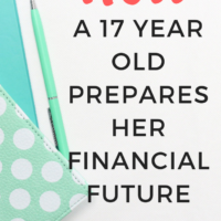 How a 17 year old prepares her financial future. How a teenager prepares her financial future, here are some helpful tips for you! #financialindependent #future